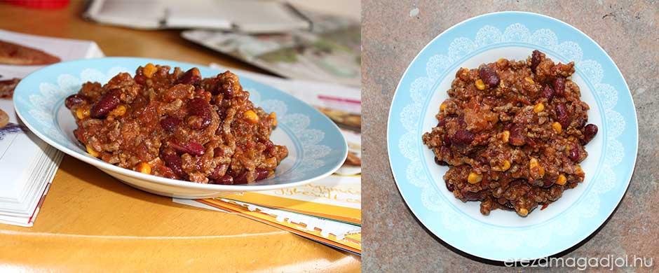 Chilli con carne – mexikói csilis bab