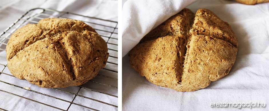Diétás szódakenyér – élesztőmentes ír kenyér