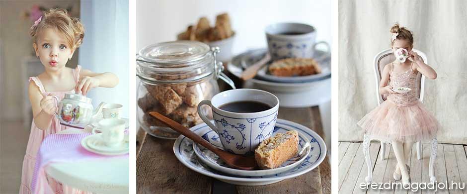 Tea délután stílusosan