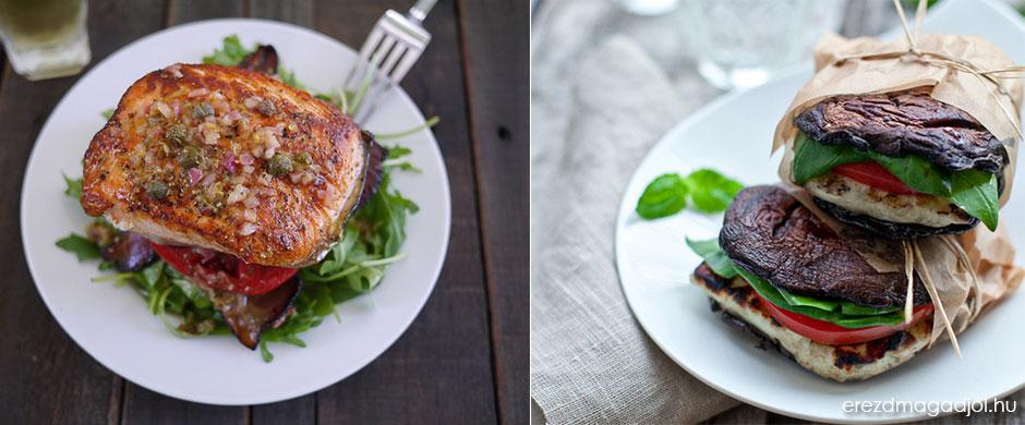 Low carb ebéd ötletek