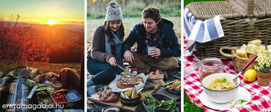 Őszi piknik – használd ki, ha jó az idő
