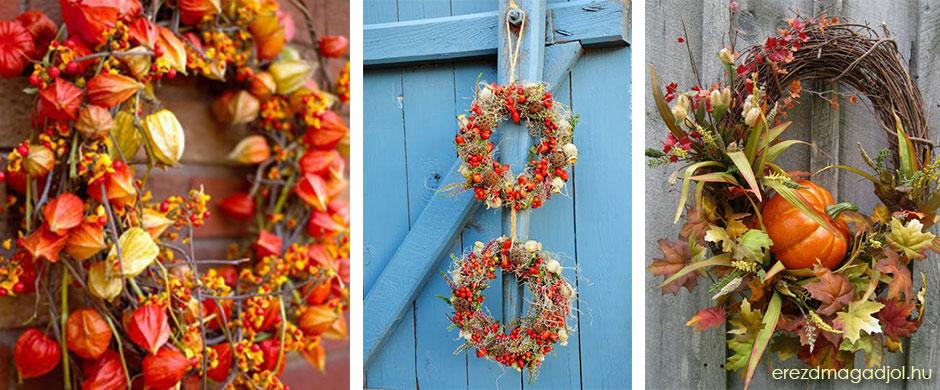 Őszi ajtódísz – inspirációs ötletek őszre
