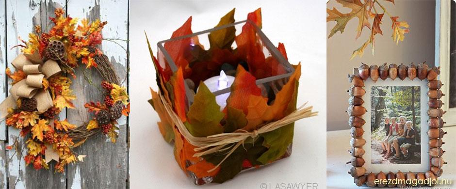 Őszi dekorációk – lakberendezési inspirációk