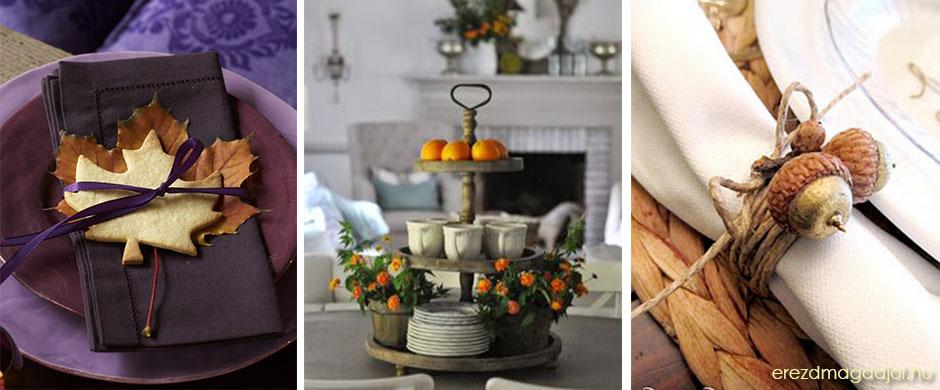 Őszi tippek terítéshez – diy asztali dekoráció