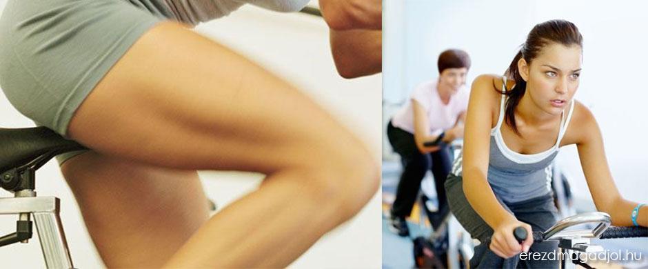 30 perces szobabiciklis edzés – intervallumos tekerés