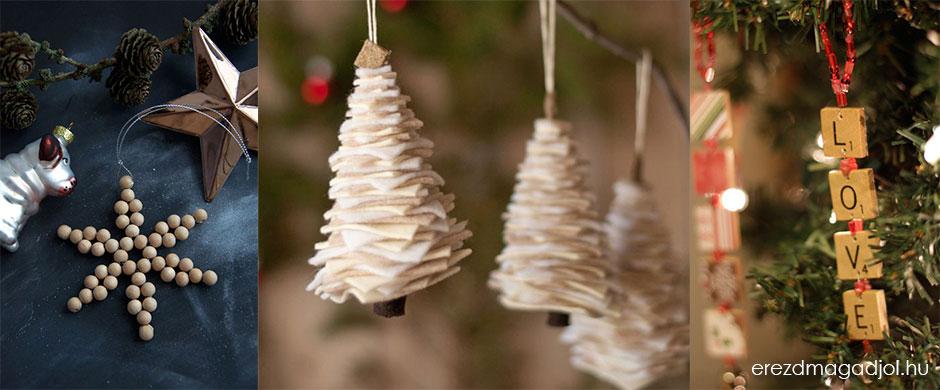 DIY karácsonyfa díszek – inspirációs ötletek karácsonyra