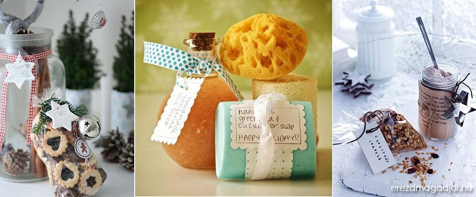 DIY ajándék ötletek – házi készítésű ajándékok karácsonyra