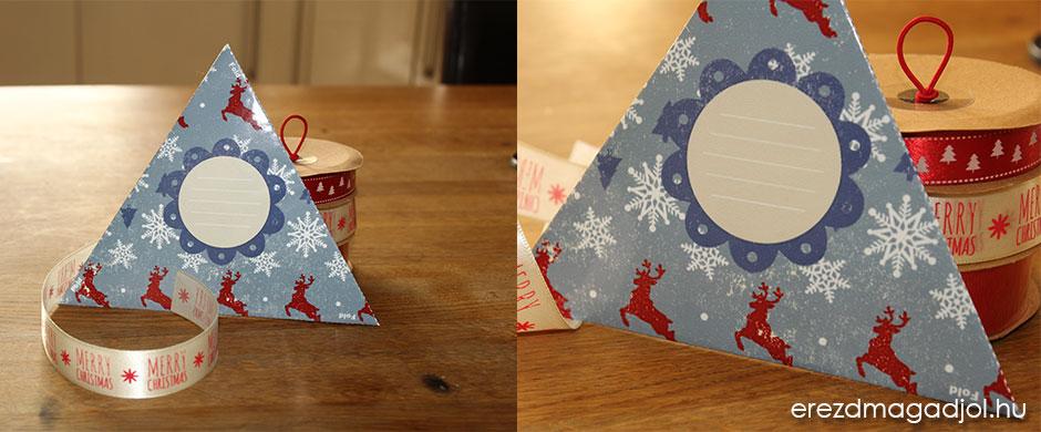 Nyomtatható karácsonyi boríték