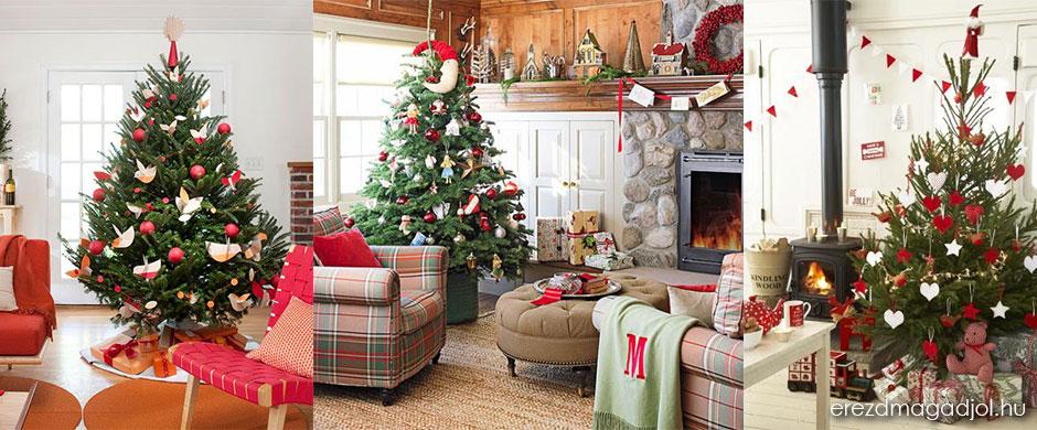 Karácsonyfa dekoráció 2014-ben