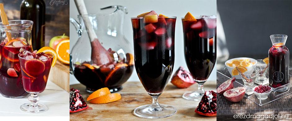 Szilveszteri sangria diétásan – újévi köszöntő