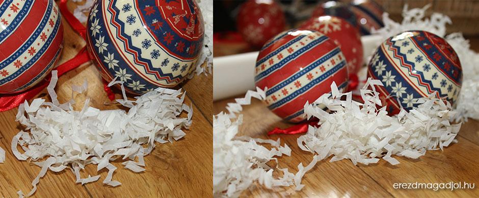 Saját készítésű hópelyhek – szaloncukor helyett a karácsonyfára