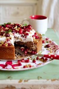 fahéjas-kávé torta-kokusz-kremmel