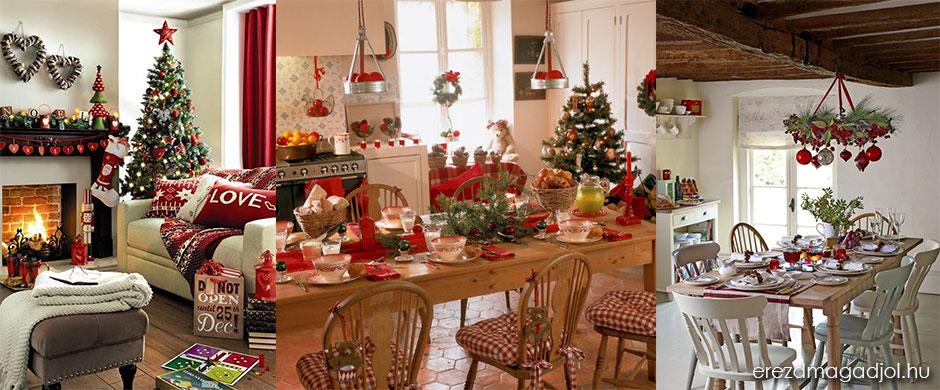Karácsonyi hangulat teremtés otthon