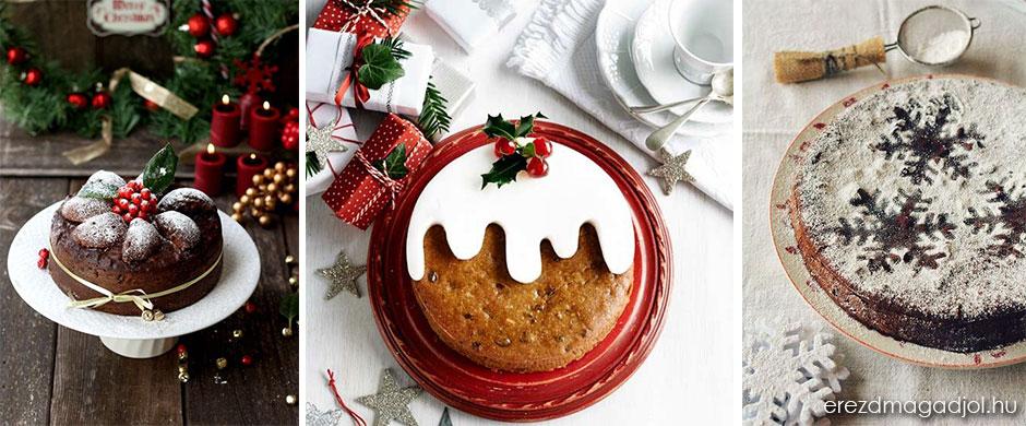 Egyszerű torták-sütik karácsonyra