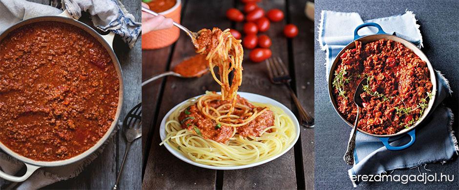 Házi bolognai szósz – egészséges, diétás, tartósítószer mentes
