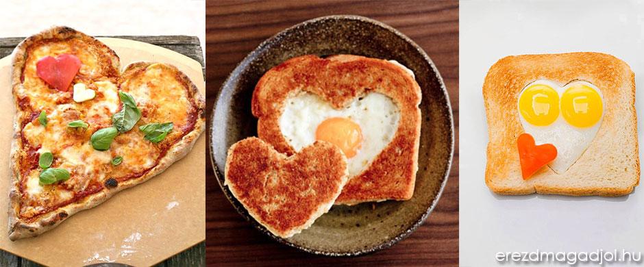 Valentin napi gyors finomságok