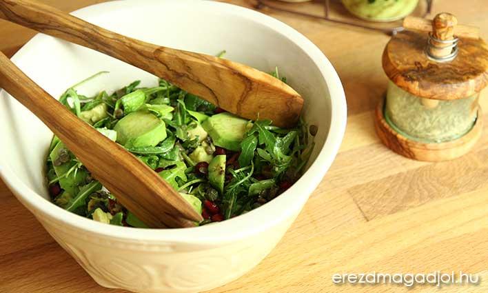 Avokádós lencse saláta – saláta ötletek