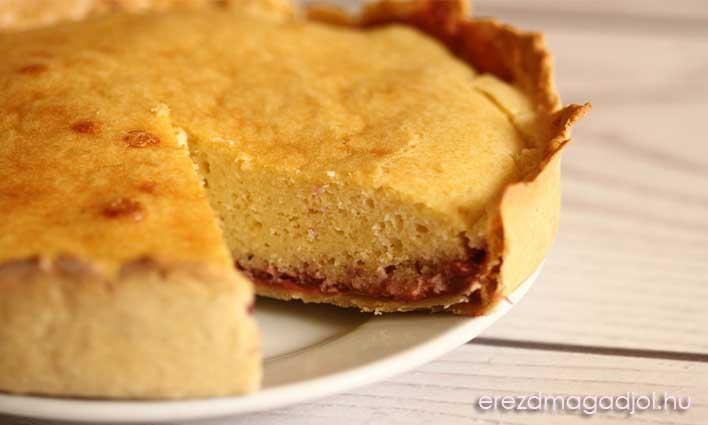 Diétás bakewell torta – mandulás, gyümölcsös élvezet