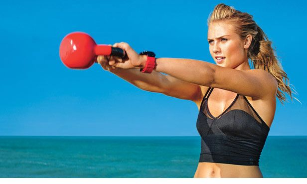 Kettlebell edzés otthon