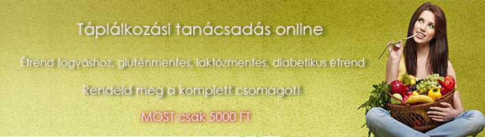 Táplálkozási tanácsadás online