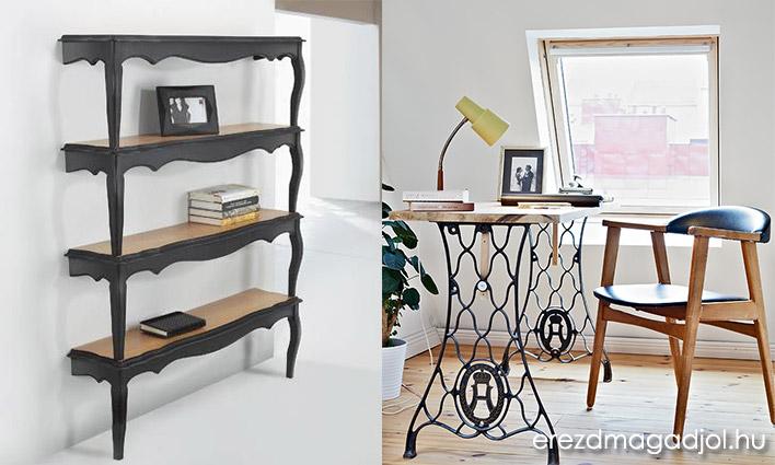 DIY, újrahasznosított bútorok ötletesen