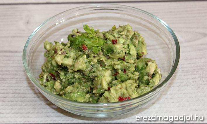 Klasszikus Guacamole – avokádókrém egészségesen