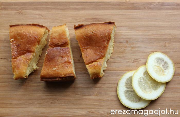 Citromos süti – egészséges piskótás élvezet