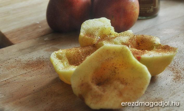 Egészséges almás nasi
