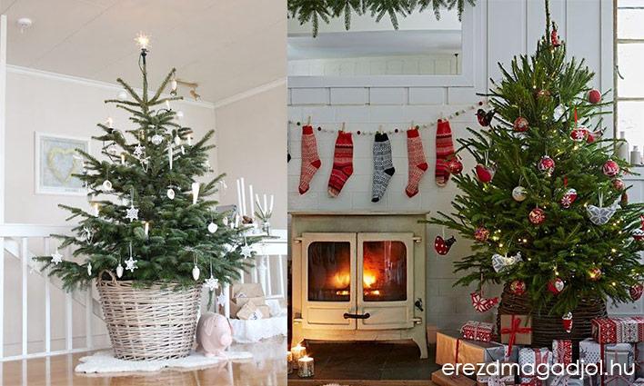 Inspirációs ötletek a karácsonyfához