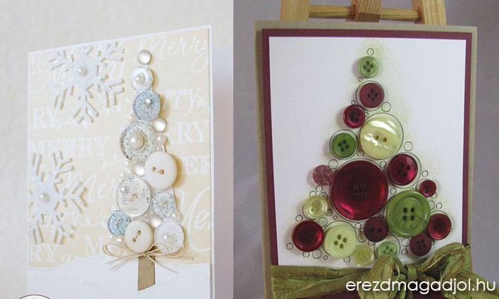 DIY képeslap karácsonyra