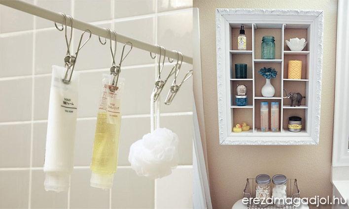 Praktikus ötletek a fürdőszobába
