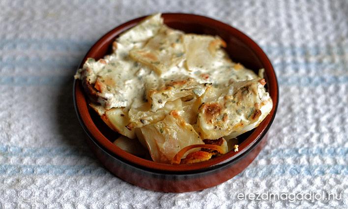 Rakott zeller – a rakott krumpli újragondolva