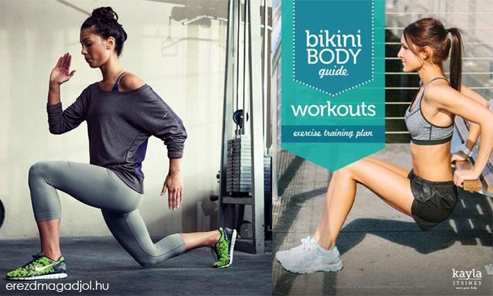 BBG – Bikini Body Guide – 12 hetes edzés Mindenkinek