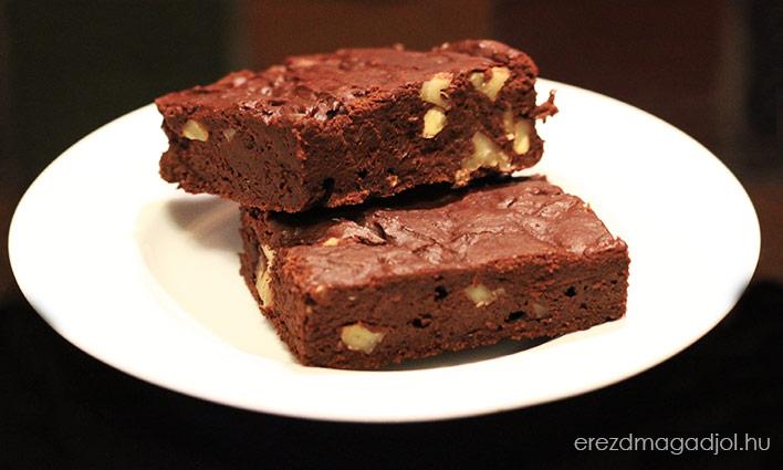 Egészséges Csokis Brownie