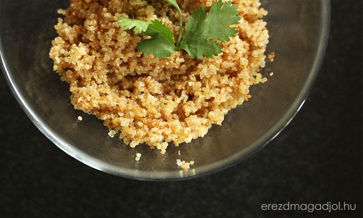 Quinoa – a tökéletes köret
