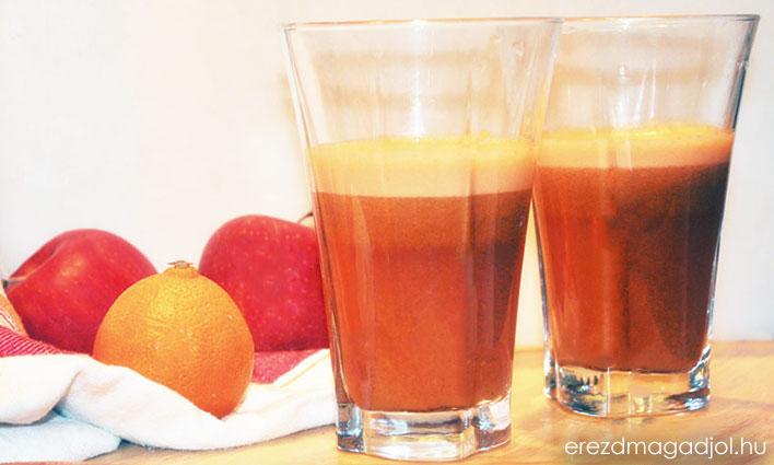 Alma, Répa & Narancs juice