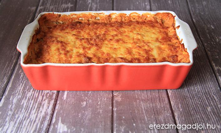 Cukkini lasagne – tészta nélküli lasagne
