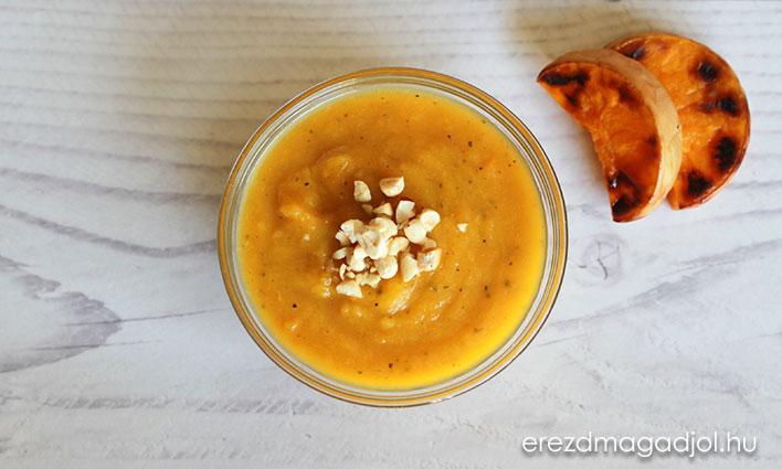 Sütőtök krémleves – tejszínmentes őszi-téli leves