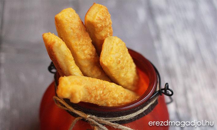 Fitt sajtos rúd