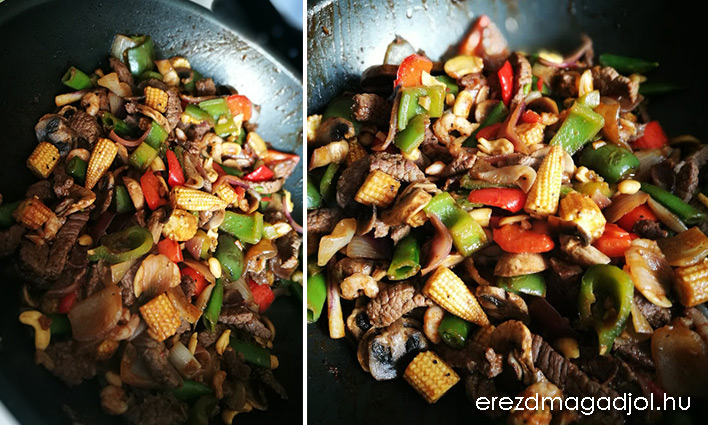 Stir fry egytálétel – gyors és finom