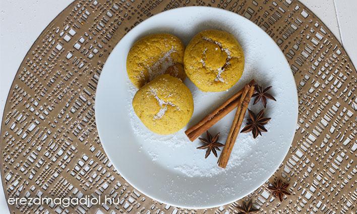 Sütőtökös muffin -cukormentes , szénhidrát csökkentett