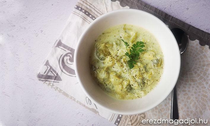 Kelbimbó főzelék – lisztmentes, egészséges