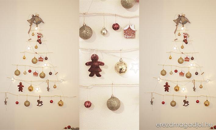 DIY  karácsonyfa